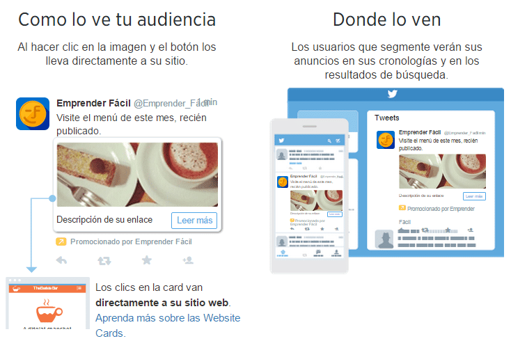 Como y donde te ve la audiencia - Twitter ads