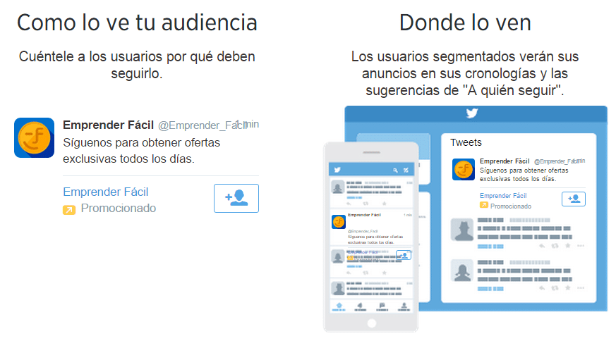 Como y donde te ve tu audiencia - Twitter Ads