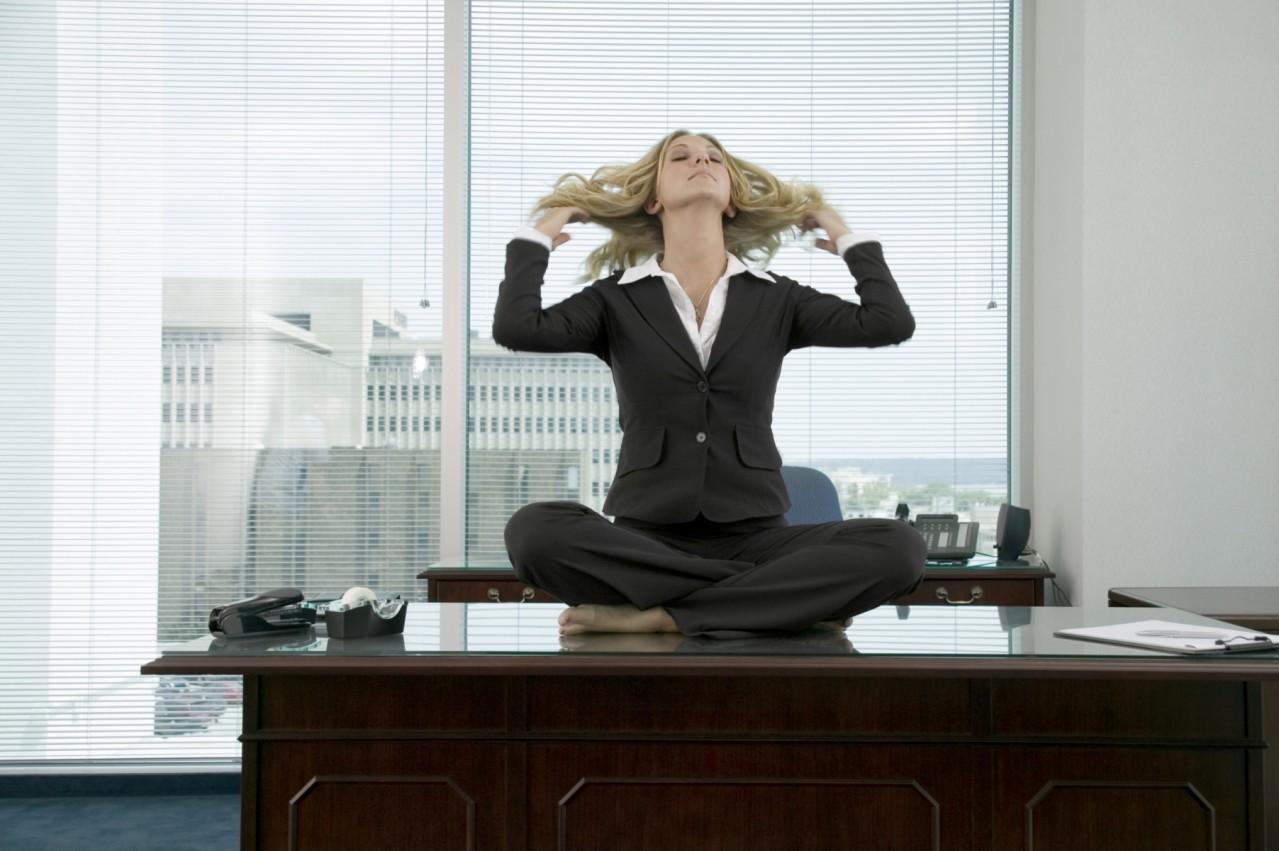 Estrés laboral la gripa de la oficina