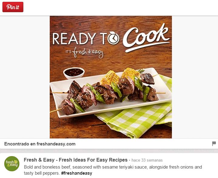 Ejemplo cómo mostrar tus platos de comida saludable