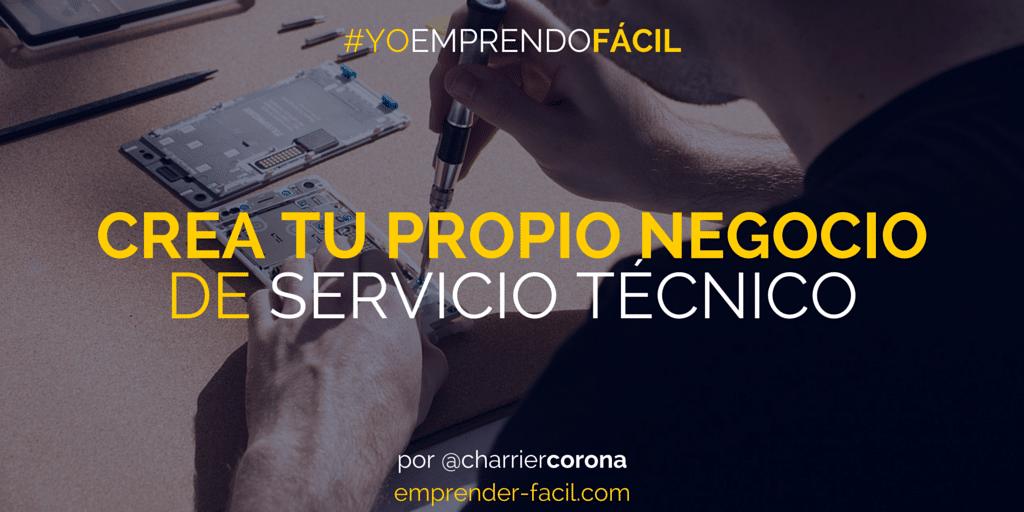 Servicio técnico como idea de negocio