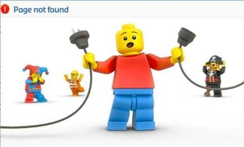 Ejemplo Página - Lego