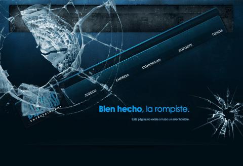Ejemplo Página - Blizzard