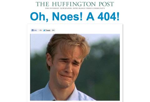 Ejemplo Página - TheHuffigtonPost