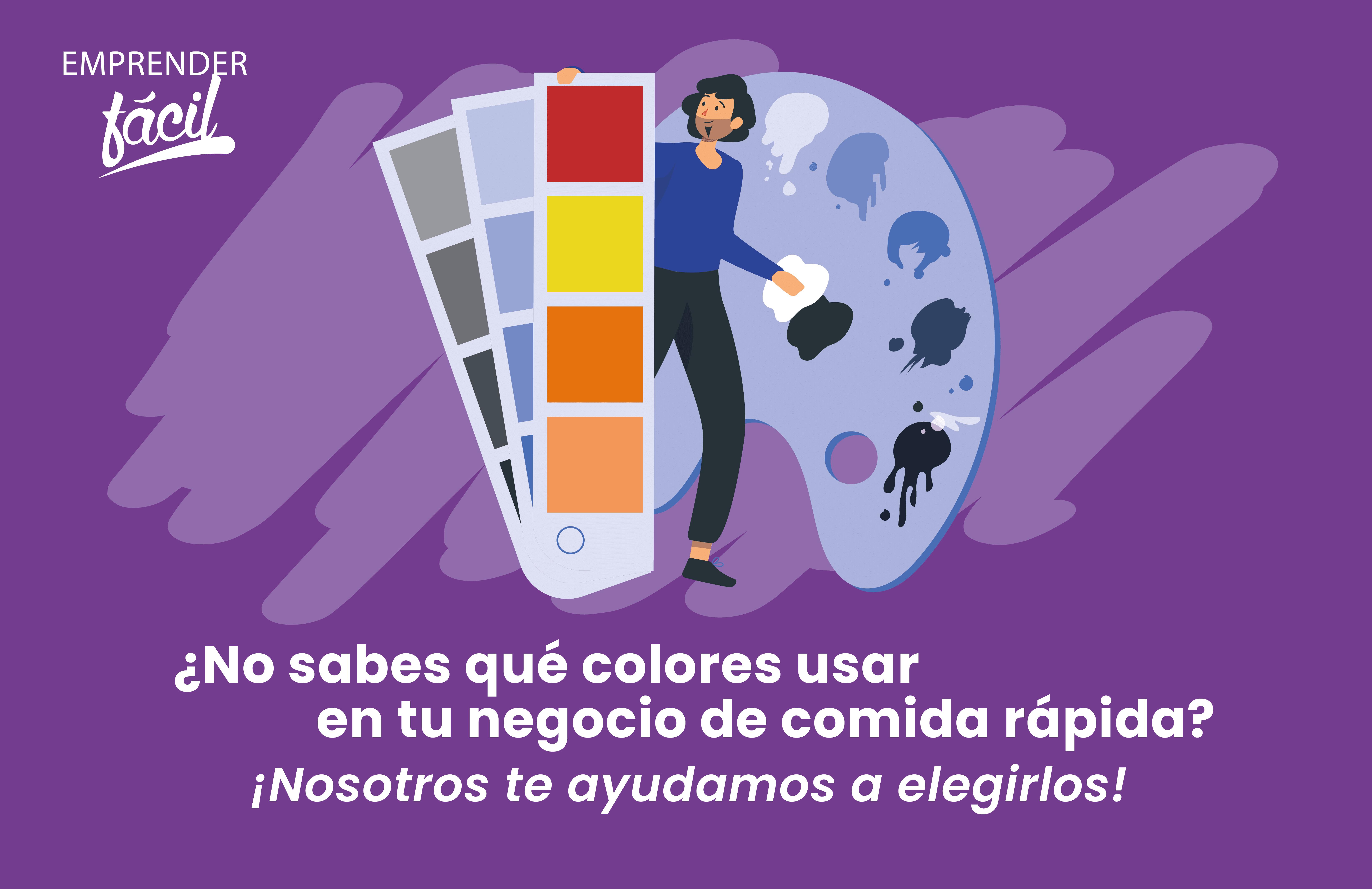 Colores para Negocios de Comida Rápida ¿Cuáles usar?