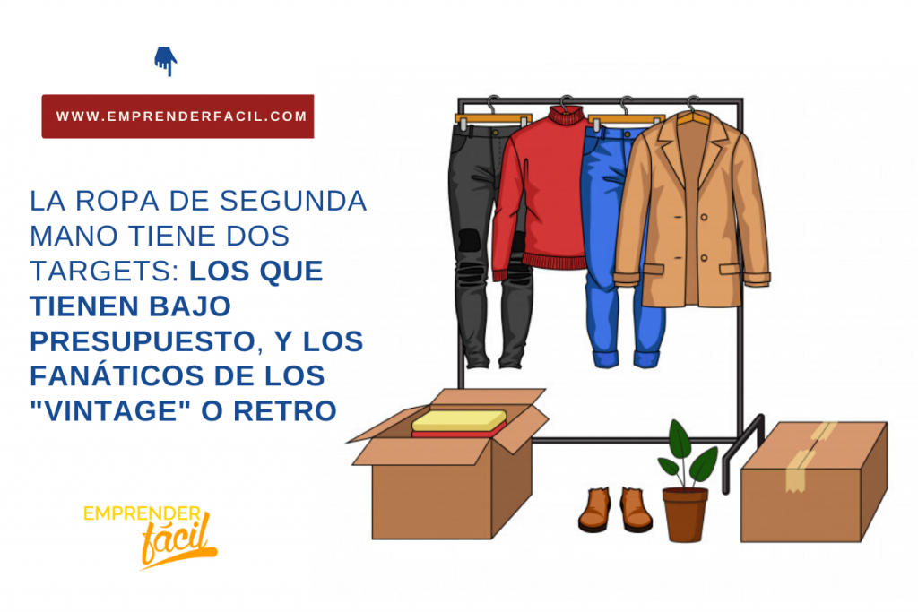 Vender ropa de segunda mano para obtener dinero con poca inversión
