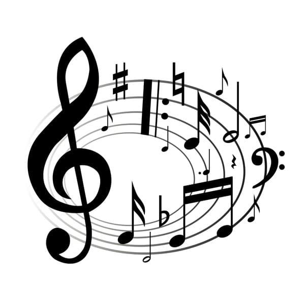 negocios y música