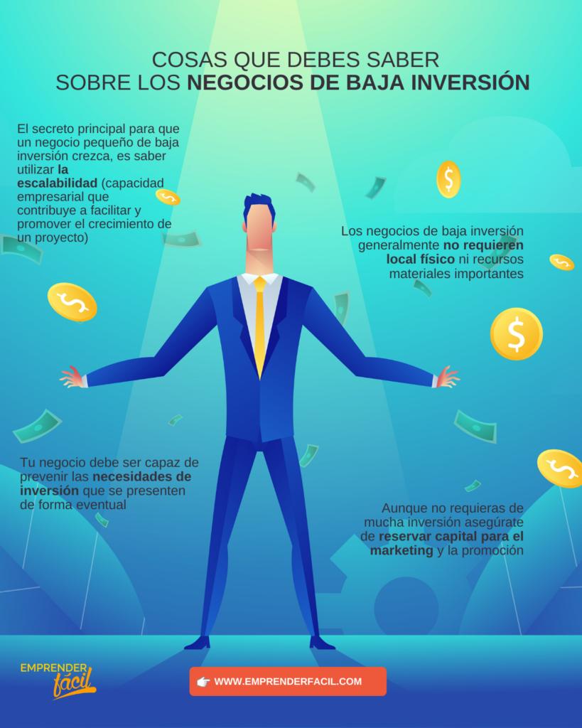 ▷ Negocios de poca inversión y mucha ganancia ¡Ideales! 0