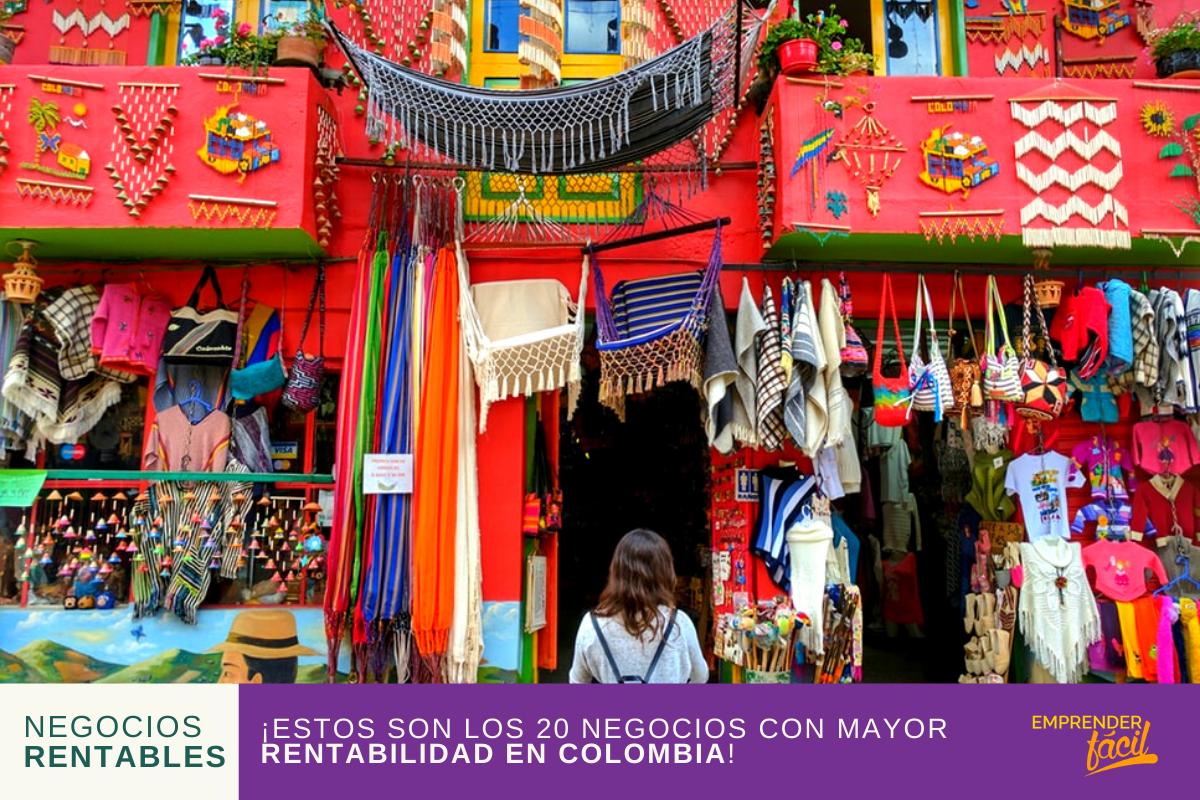 20 Negocios Rentables en Colombia ¡Garantizados!