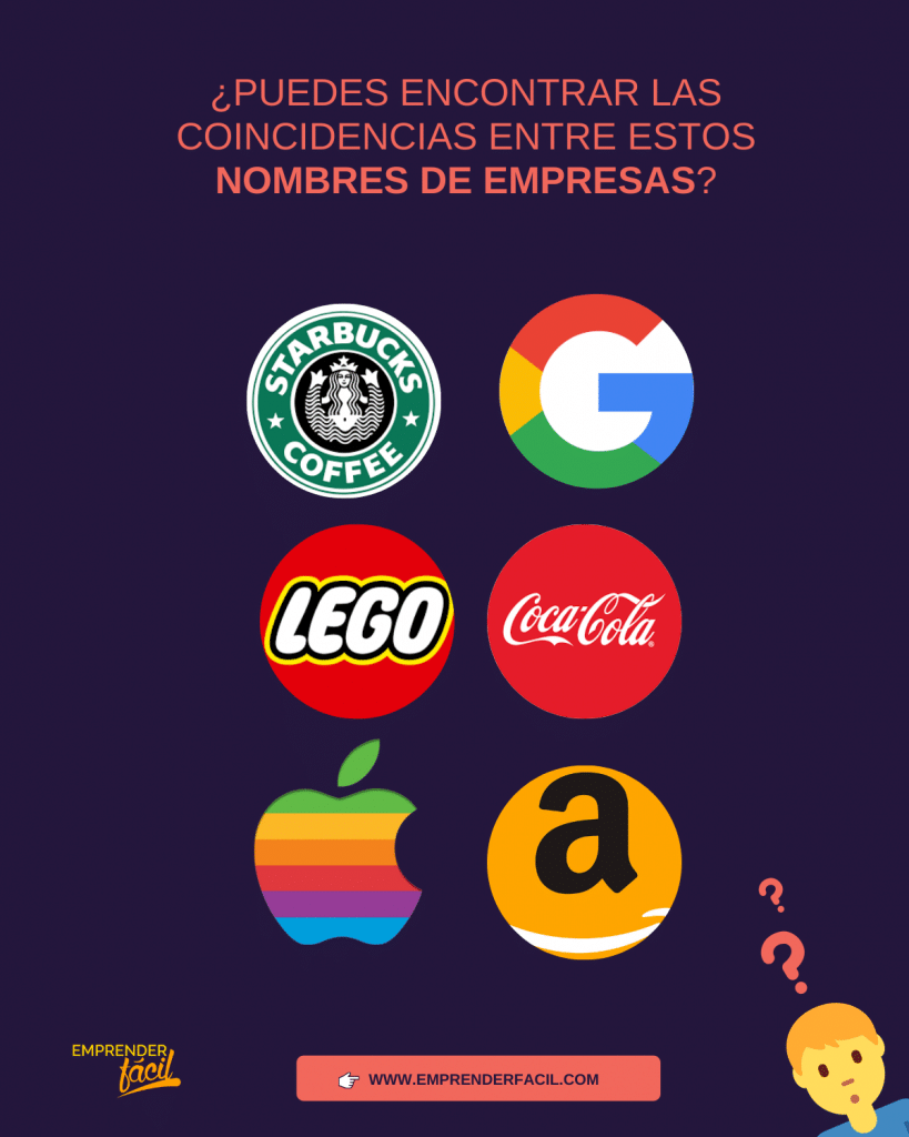 Ejemplos de nombres de empresas ¿No sabes cuál colocar? 0