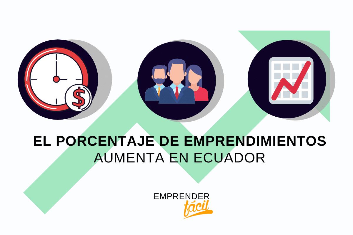El emprendimiento aumenta en Ecuador