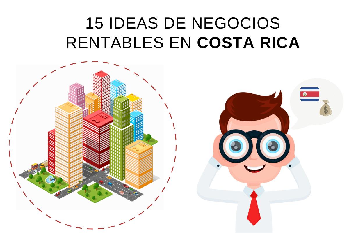 15 ideas de negocios rentables en Costa Rica