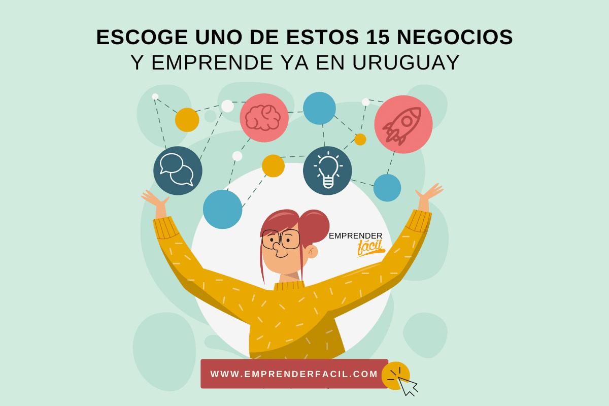 15 negocios rentables en Uruguay