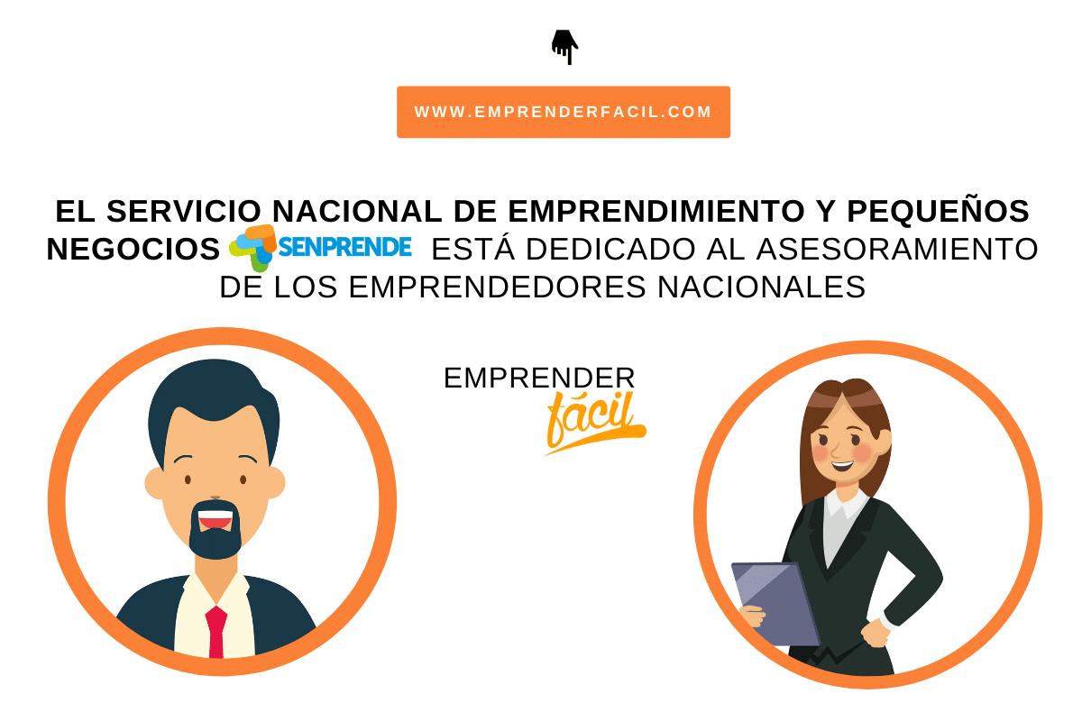 El Servicio Nacional de Emprendimiento y Pequeños Negocios (SENPRENDE) está dedicado a asesorar a los emprendedores nacionales