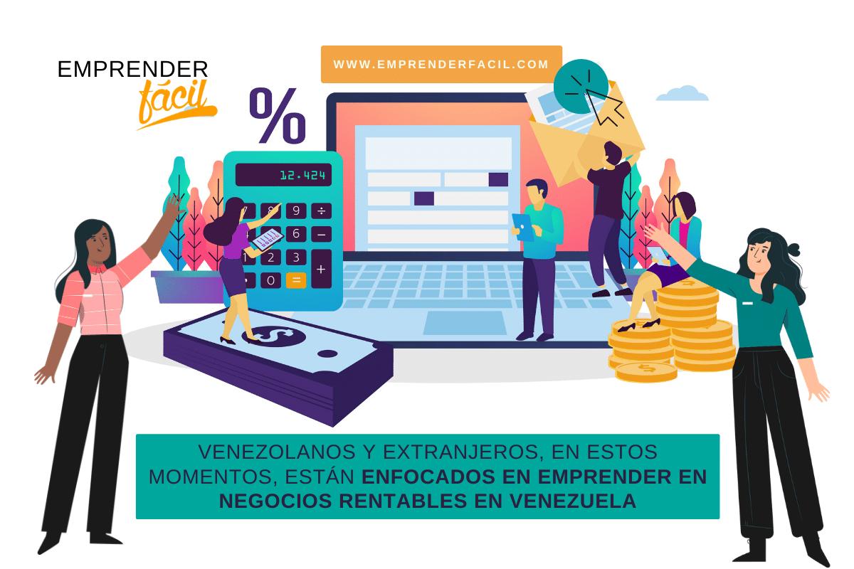 Emprender negocios rentables en venezuela