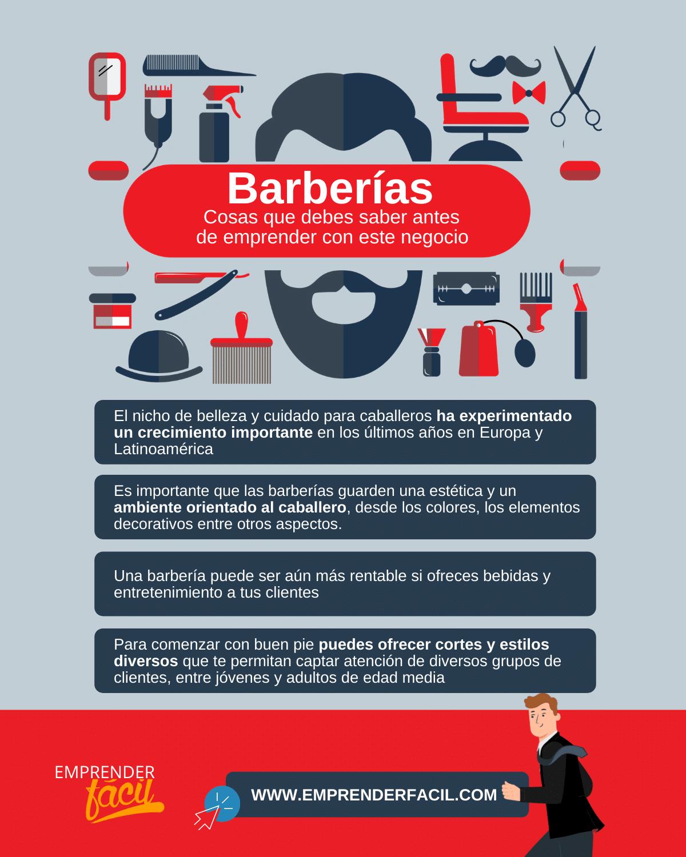 Cosas que debes saber sobre las barberías