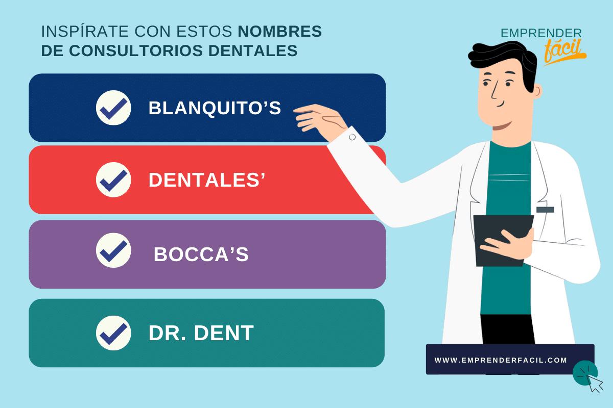 Ejemplos de nombres para Consultorio Dental
