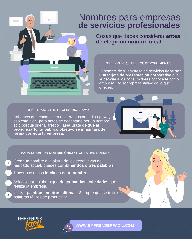 Nombres para Empresas de Servicios Profesionales + Tips