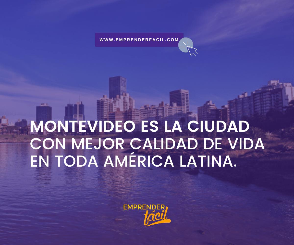 Montevideo en la ciudad con mejor calidad de vida en toda América Latina.