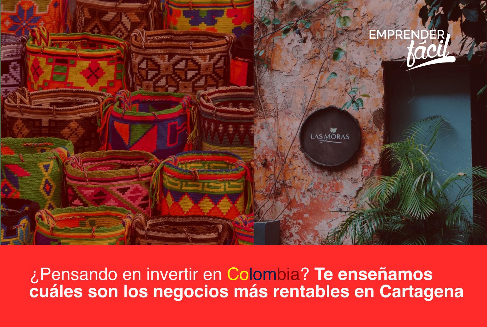 Negocios rentables en Cartagena, Colombia ¡Exitosos!