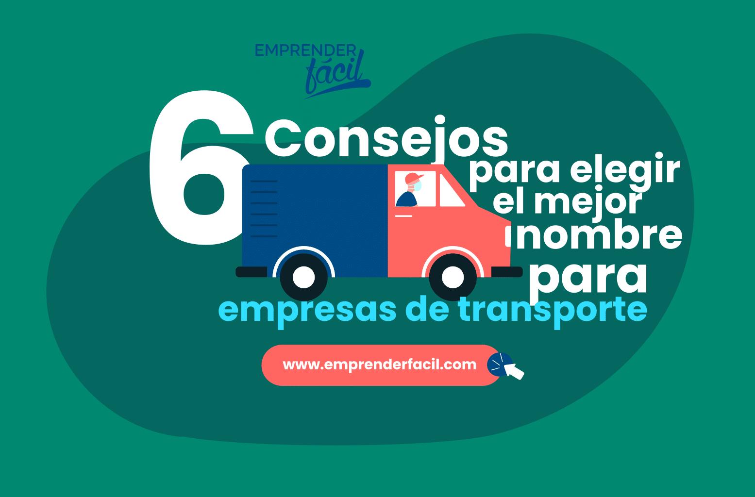 Tips para elegir Nombres para Empresas de Transporte