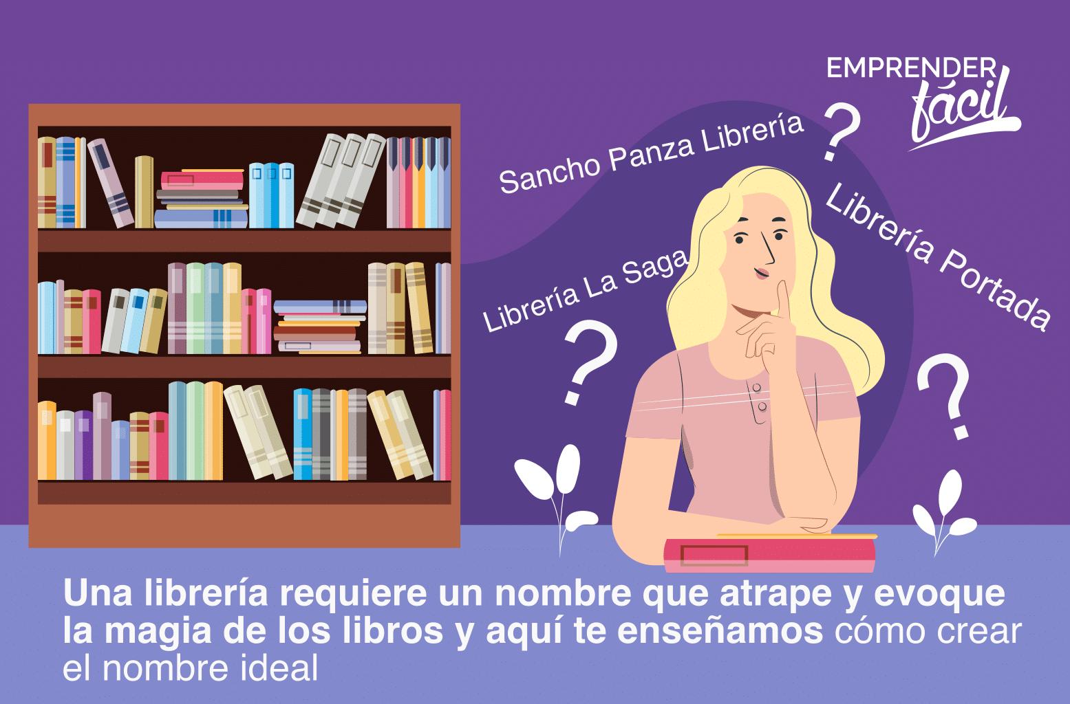 Nombres para Librerías ¡Anota el que más te guste!
