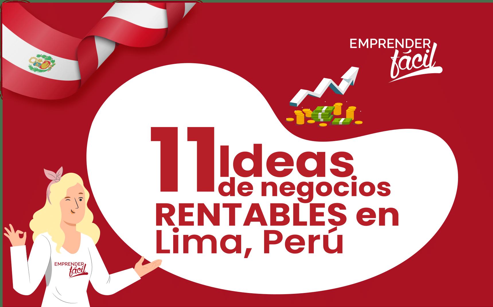 Negocios rentables en Lima
