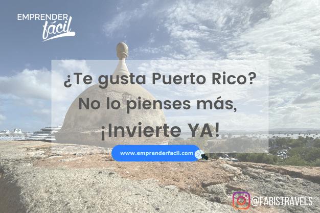 ¿Te gusta Puerto Rico?