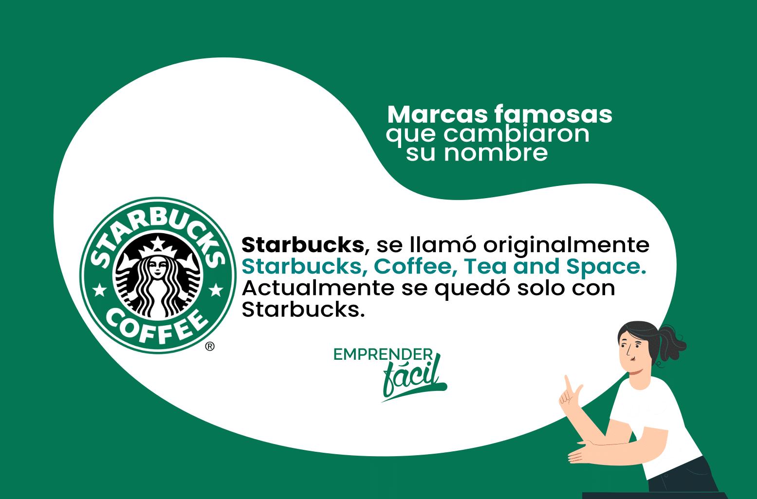 Antes de ser Starbucks, la empresa se llamó Starbucks, Coffee, Tea and Space