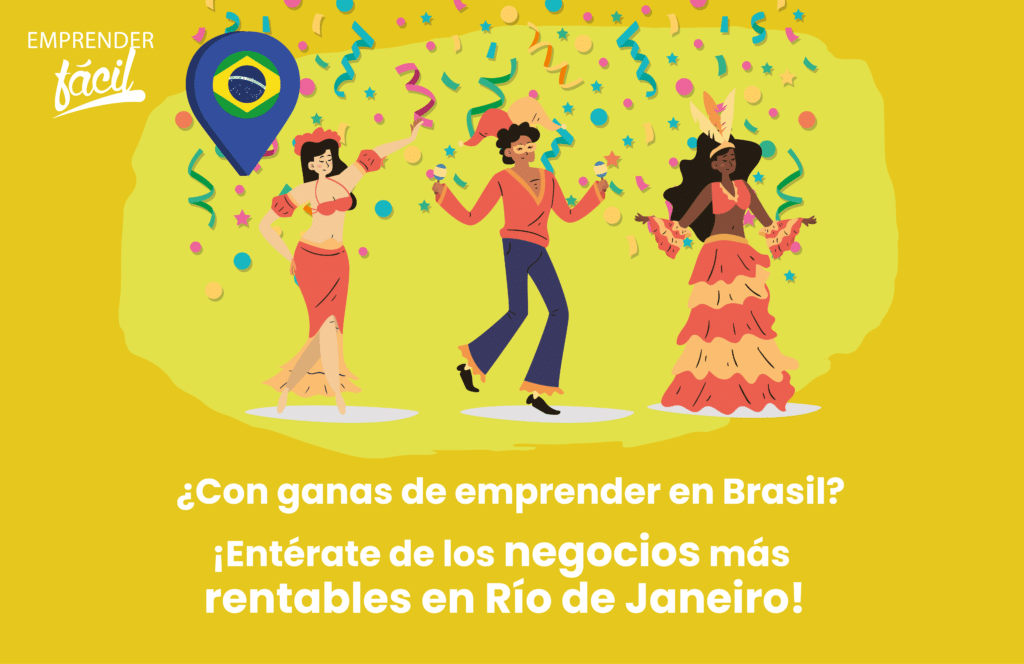 Negocios rentables en Río de Janeiro, Brasil ¡Muy buenos!