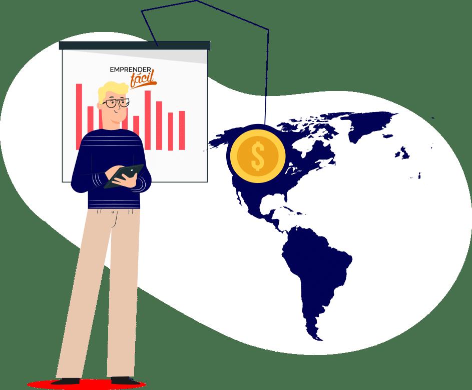 Negocios Rentables por países en América del Norte