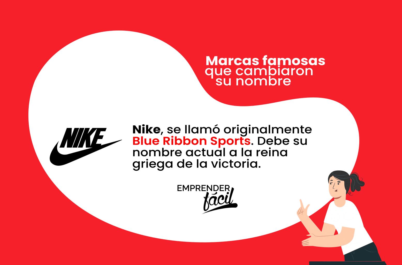 Antes de ser Nike, la empresa se llamó Blue Ribbon Sport