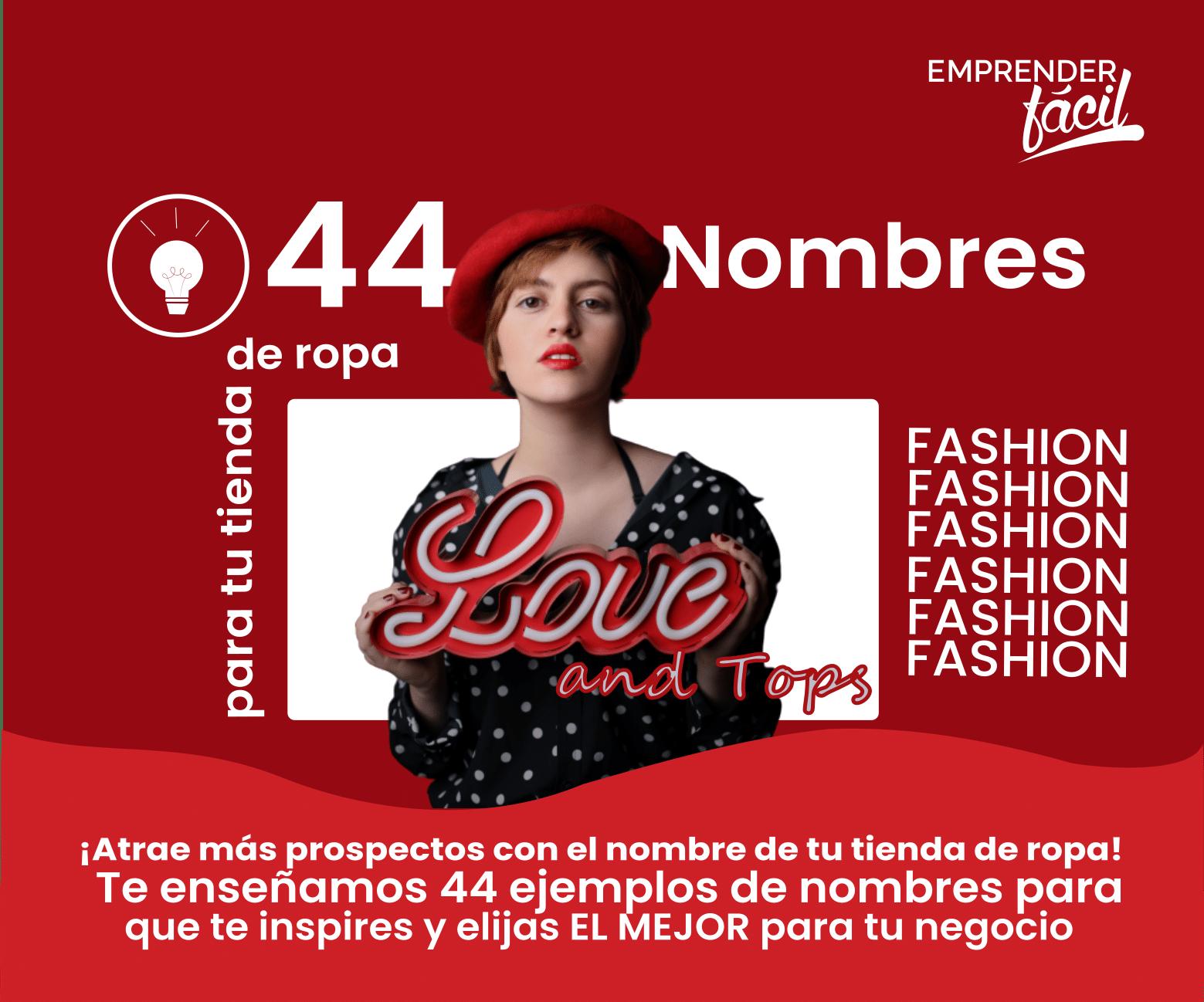 Nombres para Tienda de Ropa Fashion ¡Ideas Creativas!