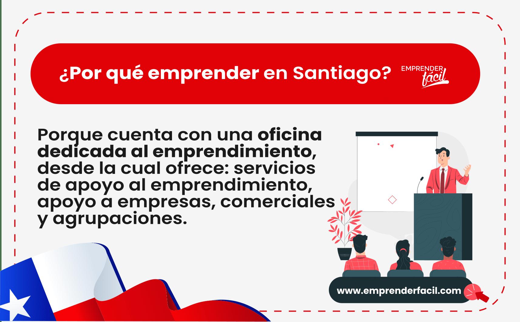 Es posible emprender en Santiago de Chile