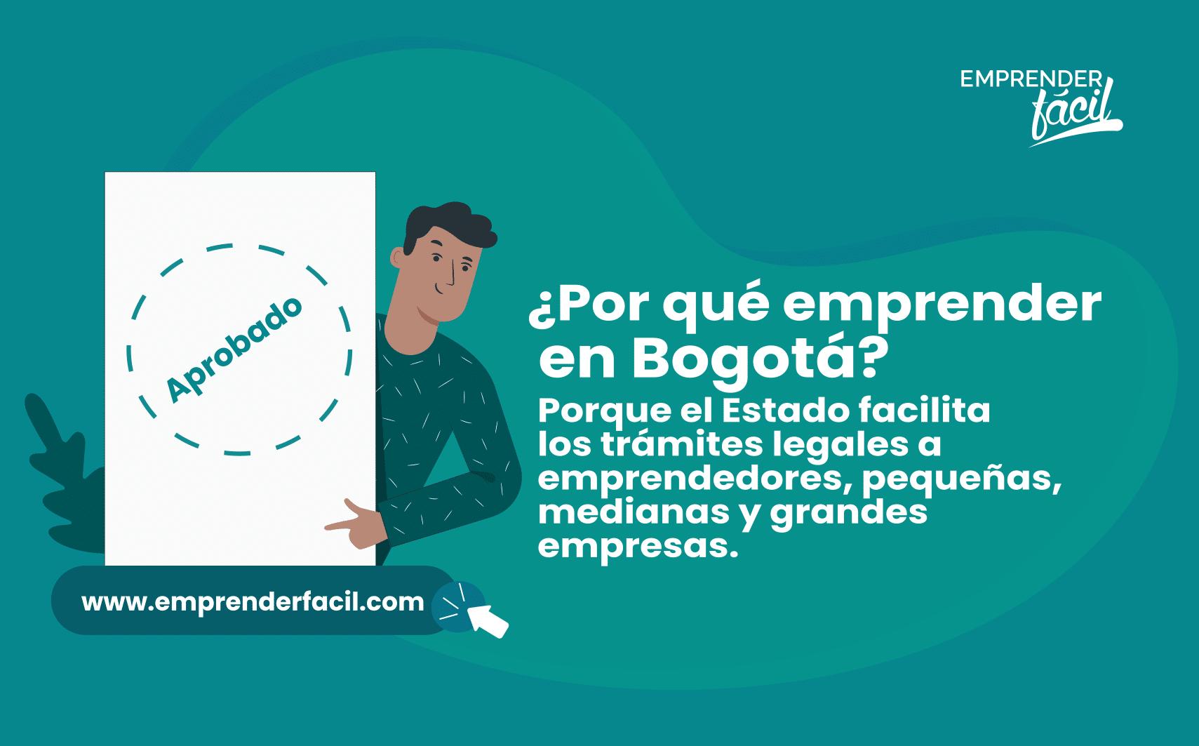 Los trámites son más simples en Bogotá.