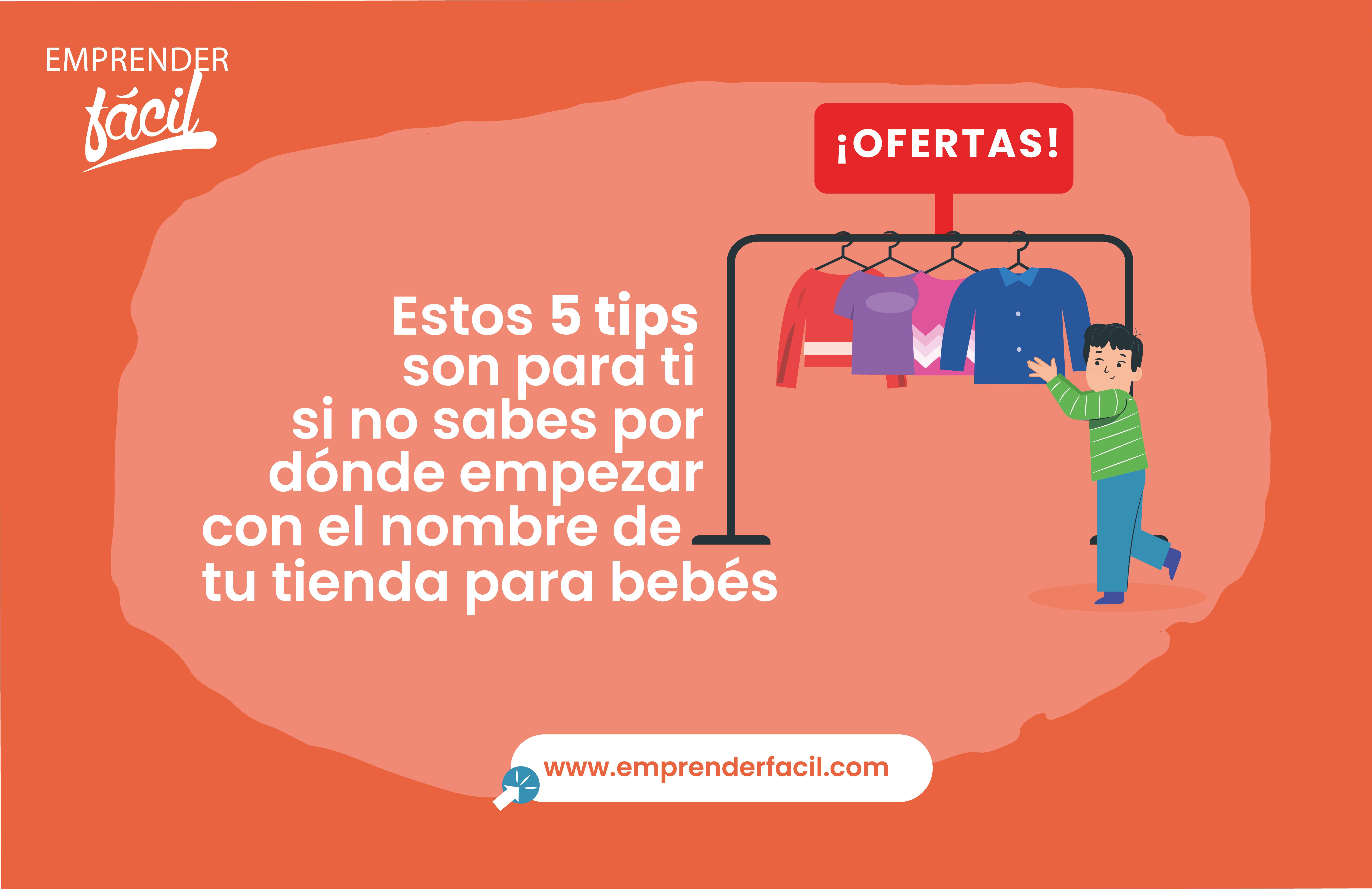Tips para elegir el nombre para Tienda de Bebés