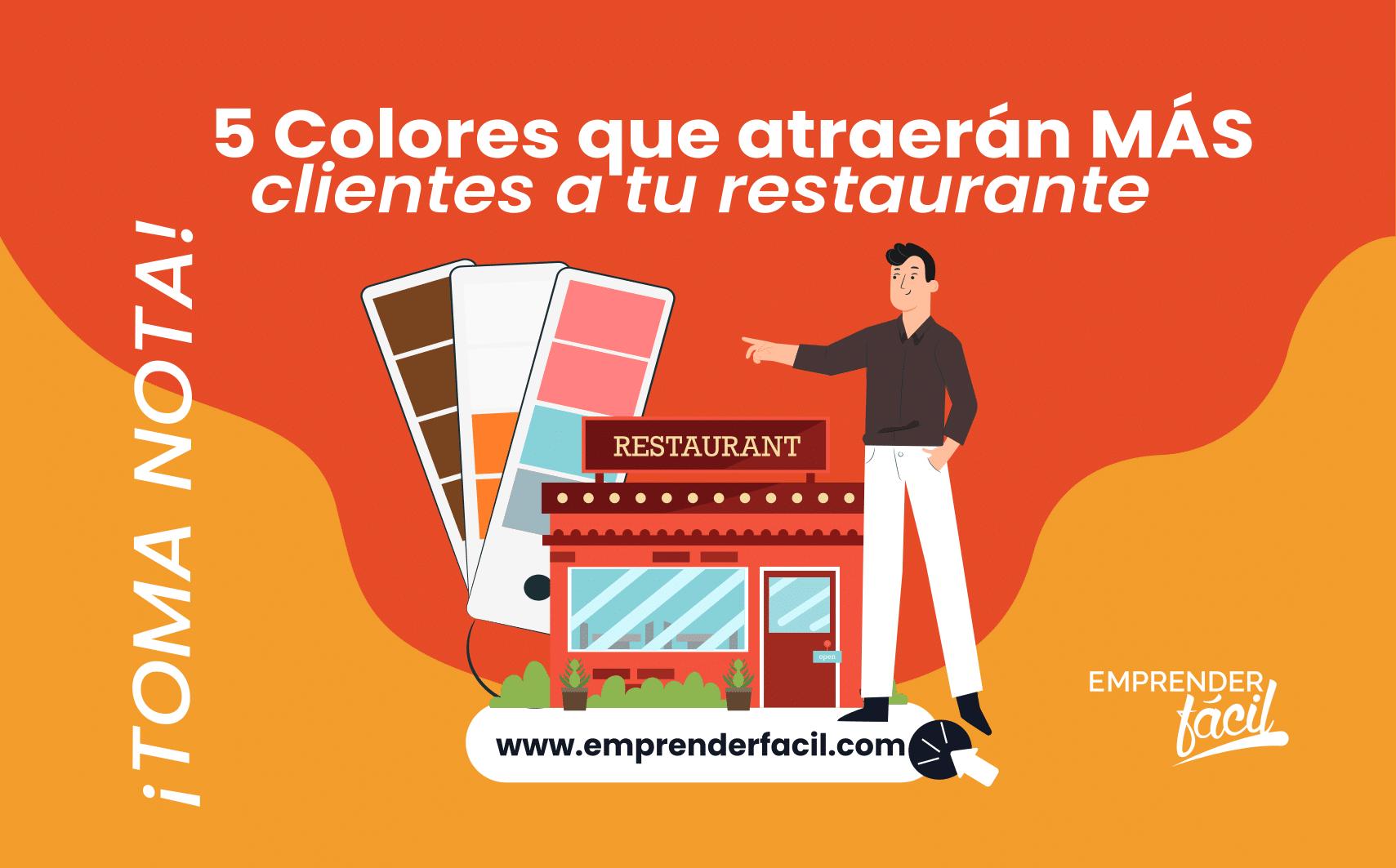 Colores para Restaurantes ¡Llamativos y exquisitos! 5
