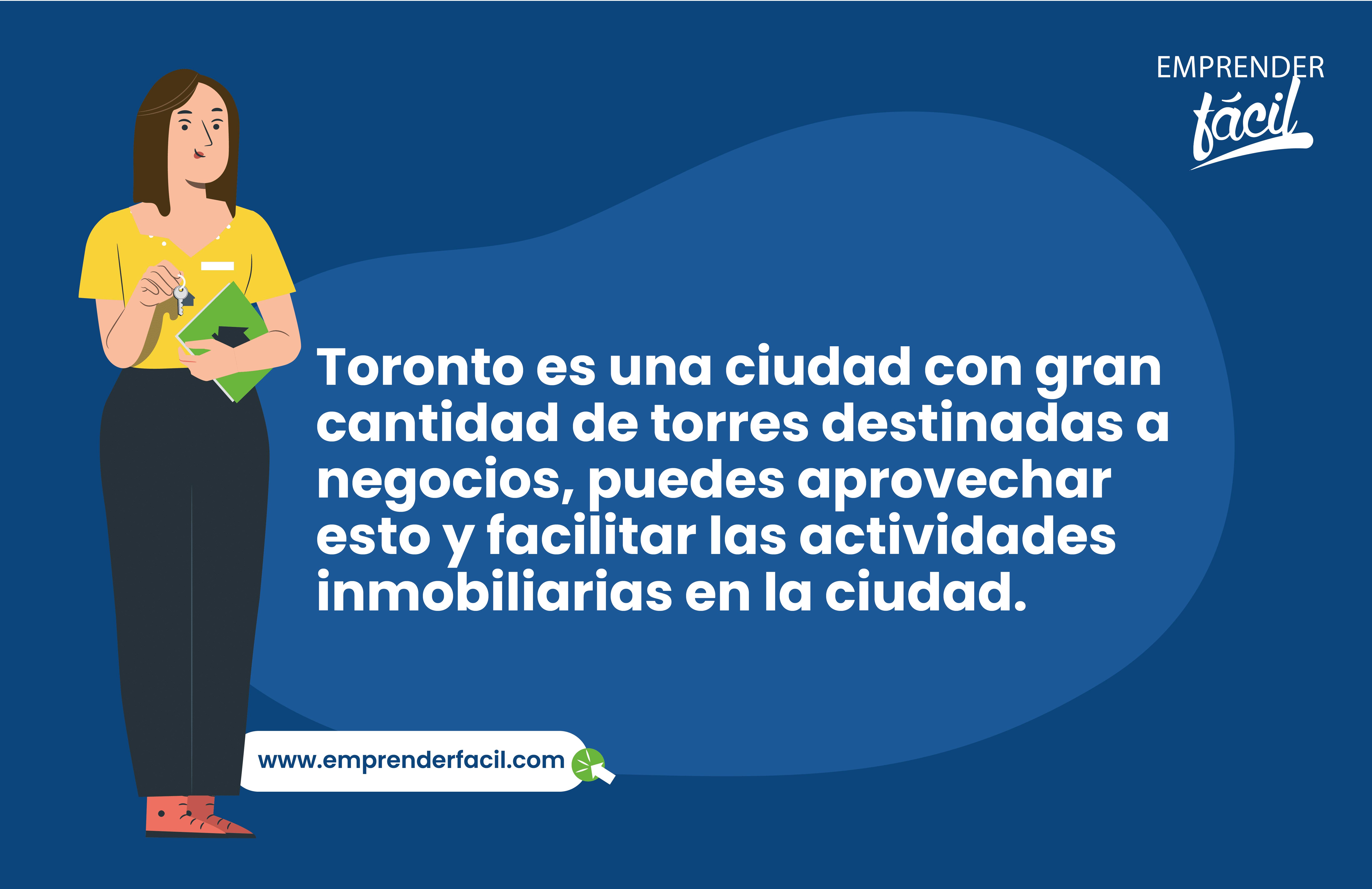 Ser agente inmobiliario es uno de los negocios rentables en Toronto.