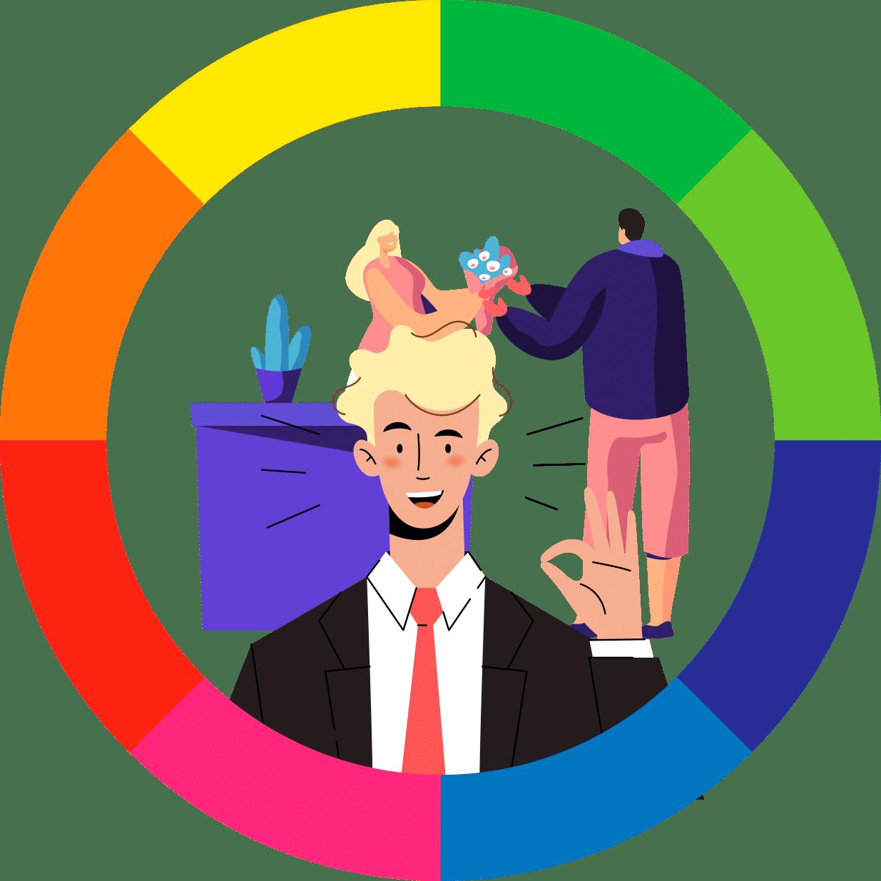 Colores para empresas de servicios.