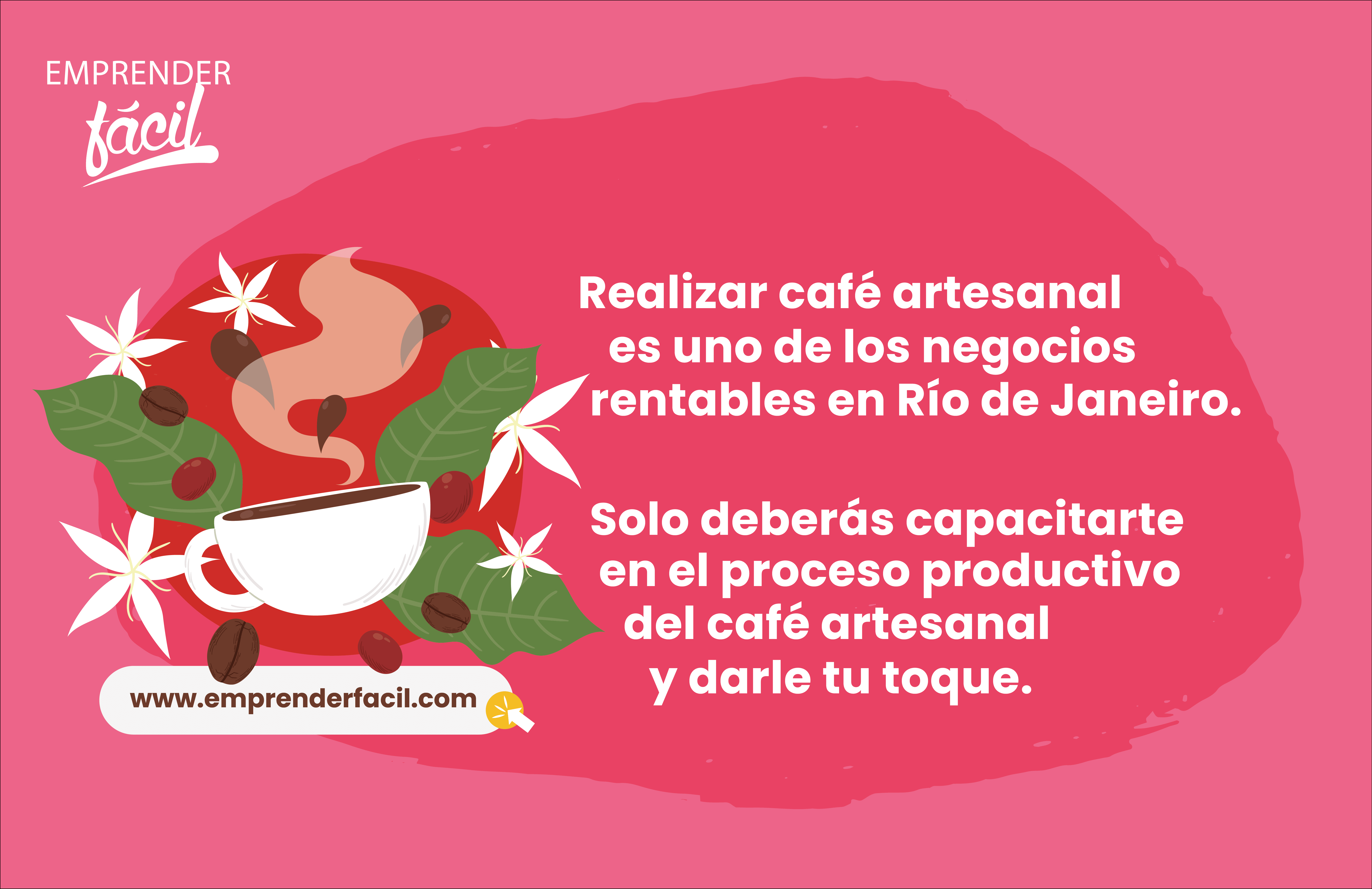 Realizar café artesanal es uno de los negocios rentables en Río de Janeiro.