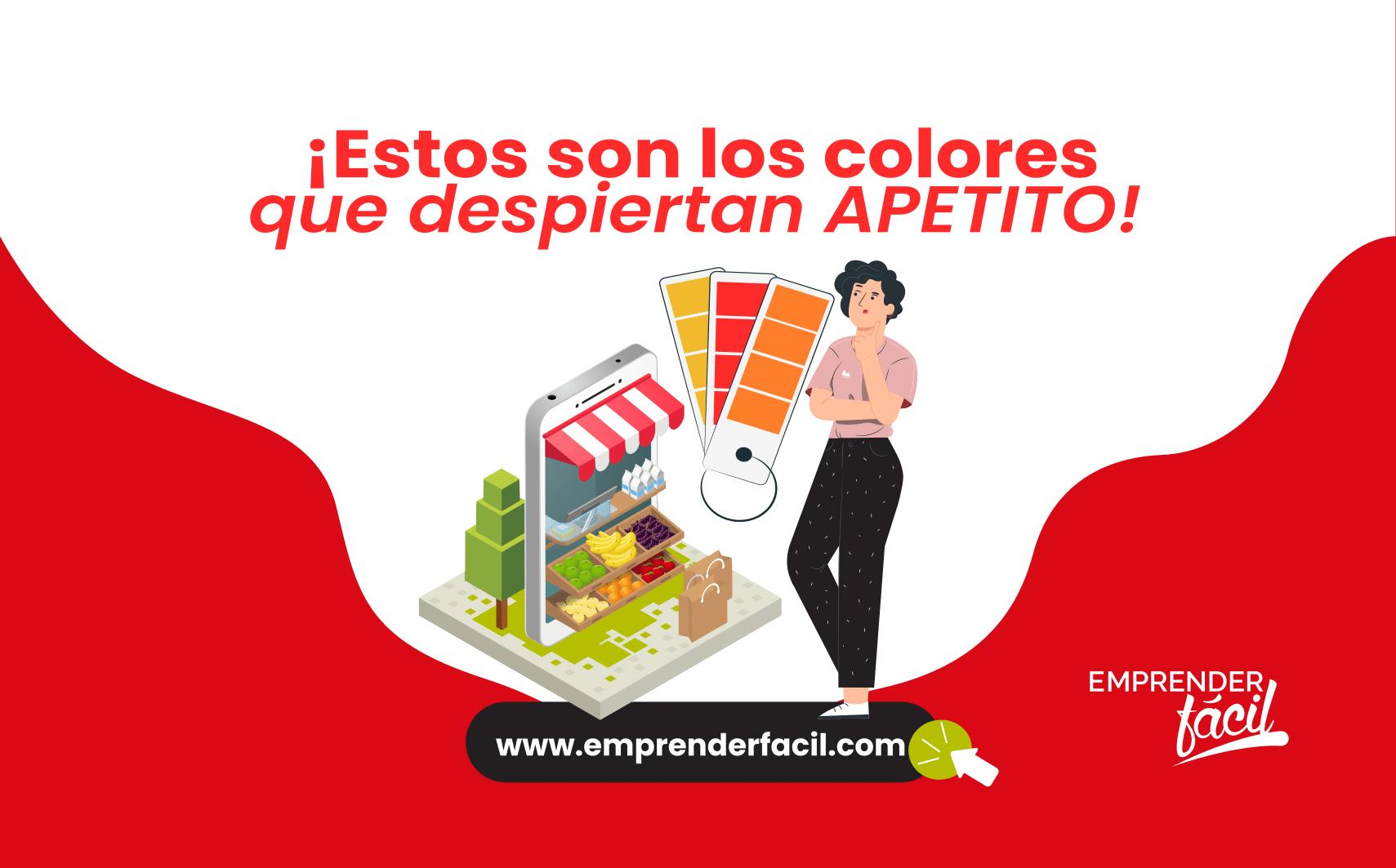 Las colores que despiertan el apetito