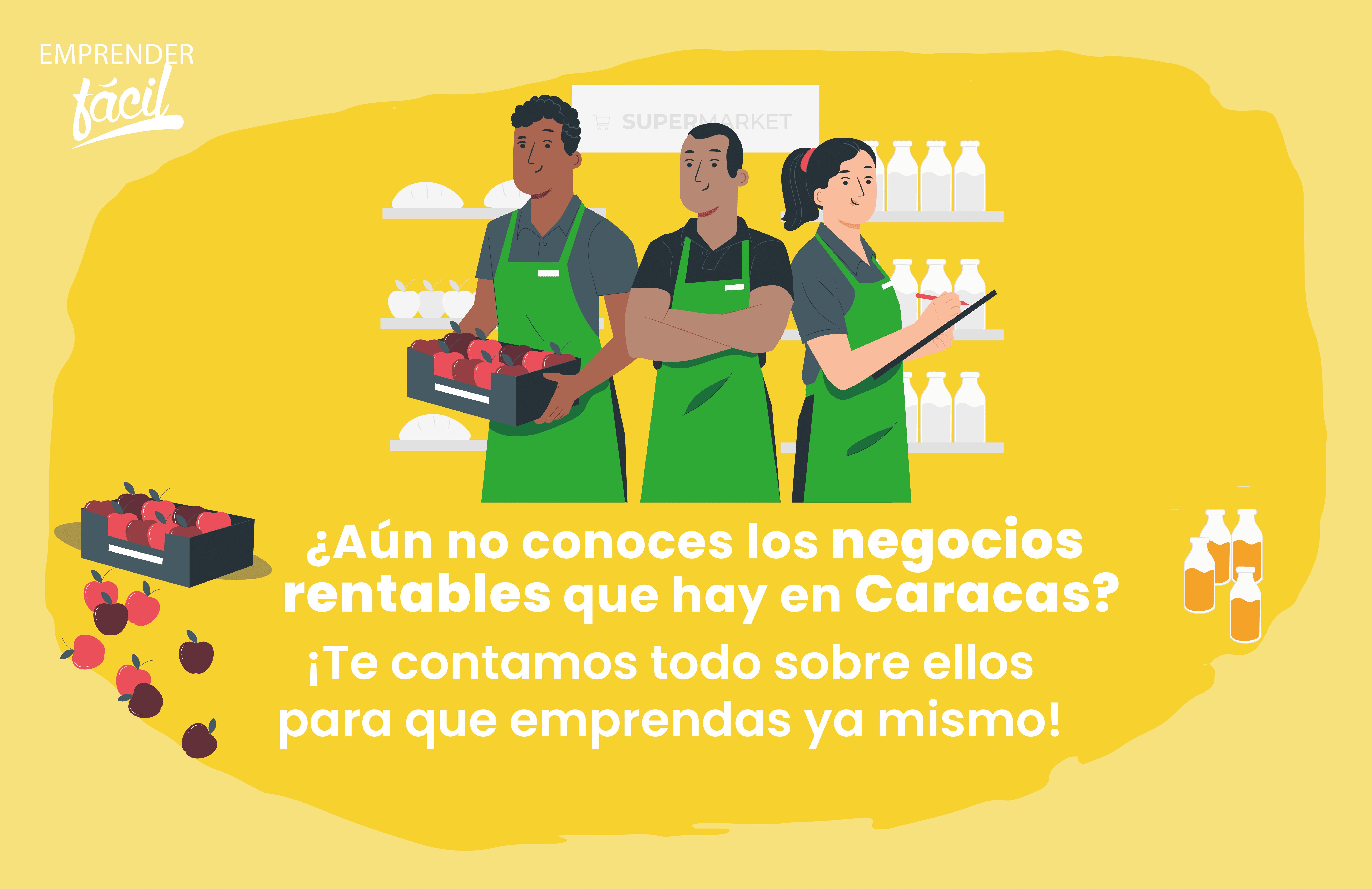 Negocios rentables en Caracas, Venezuela. ¡Es posible!