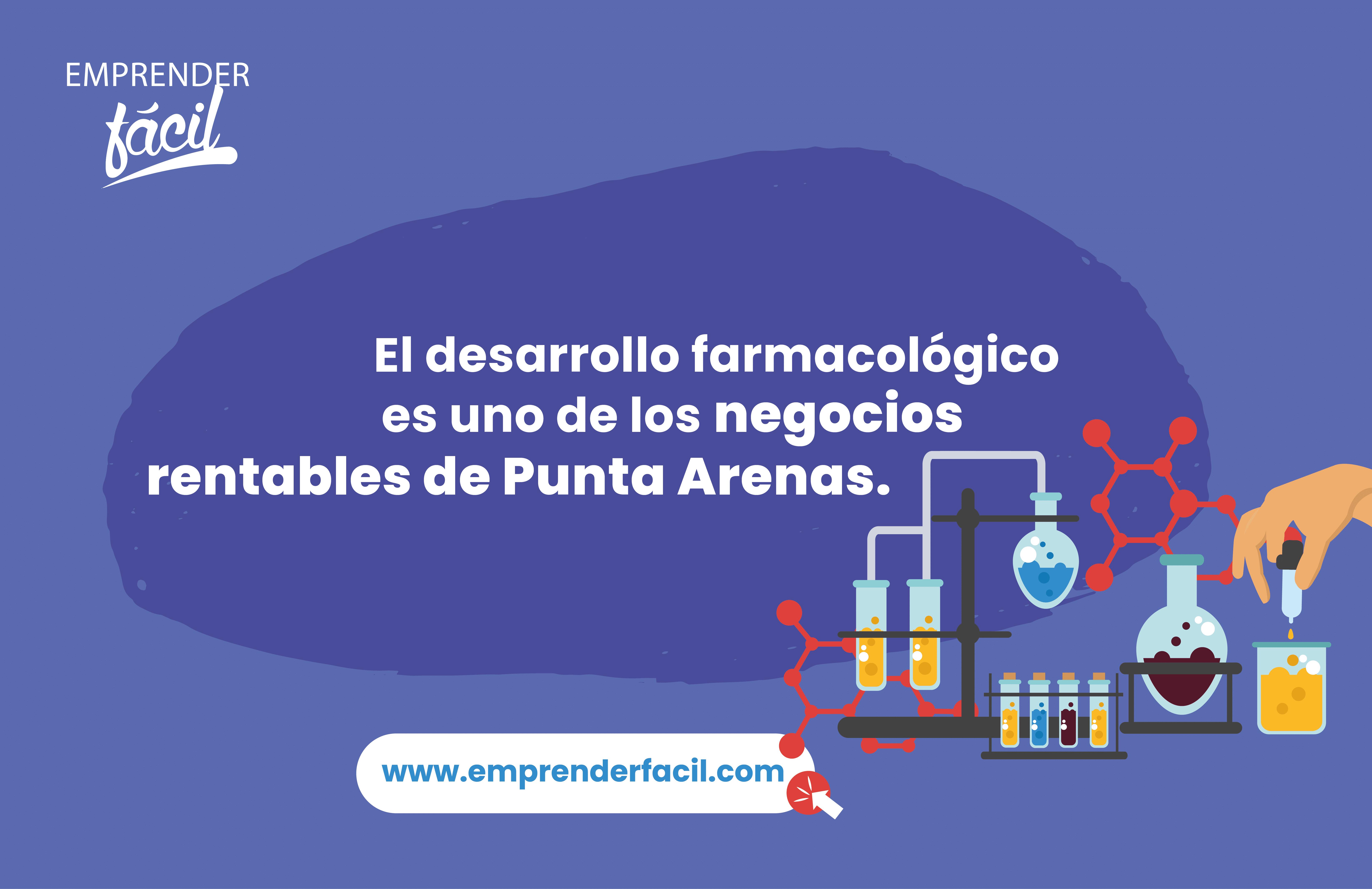 El desarrollo farmacológico es uno de los negocios rentables de Punta Arenas.