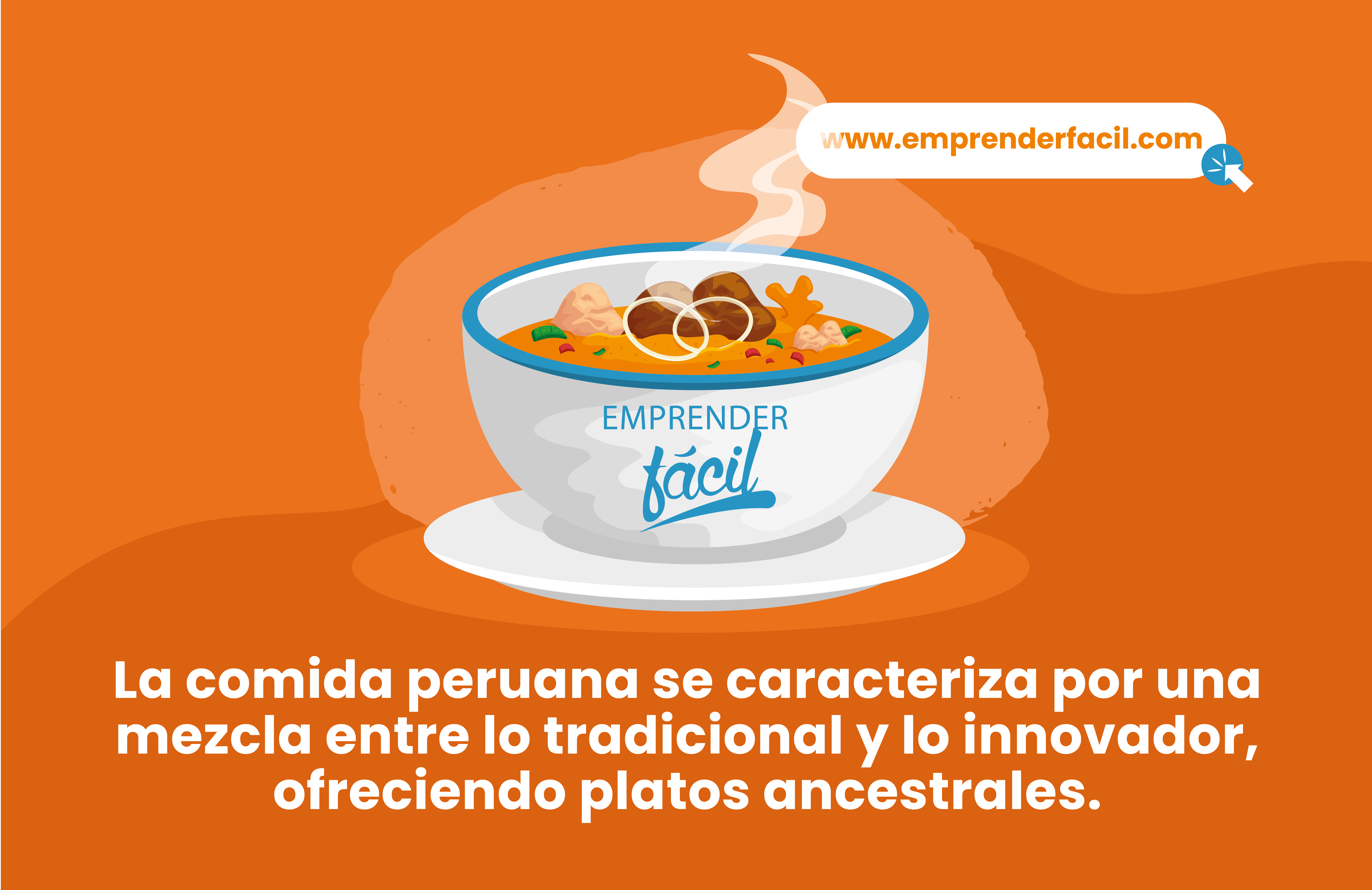La comida peruana se caracteriza por una mezcla entre lo tradicional y lo innovador, ofreciendo platos ancestrales.