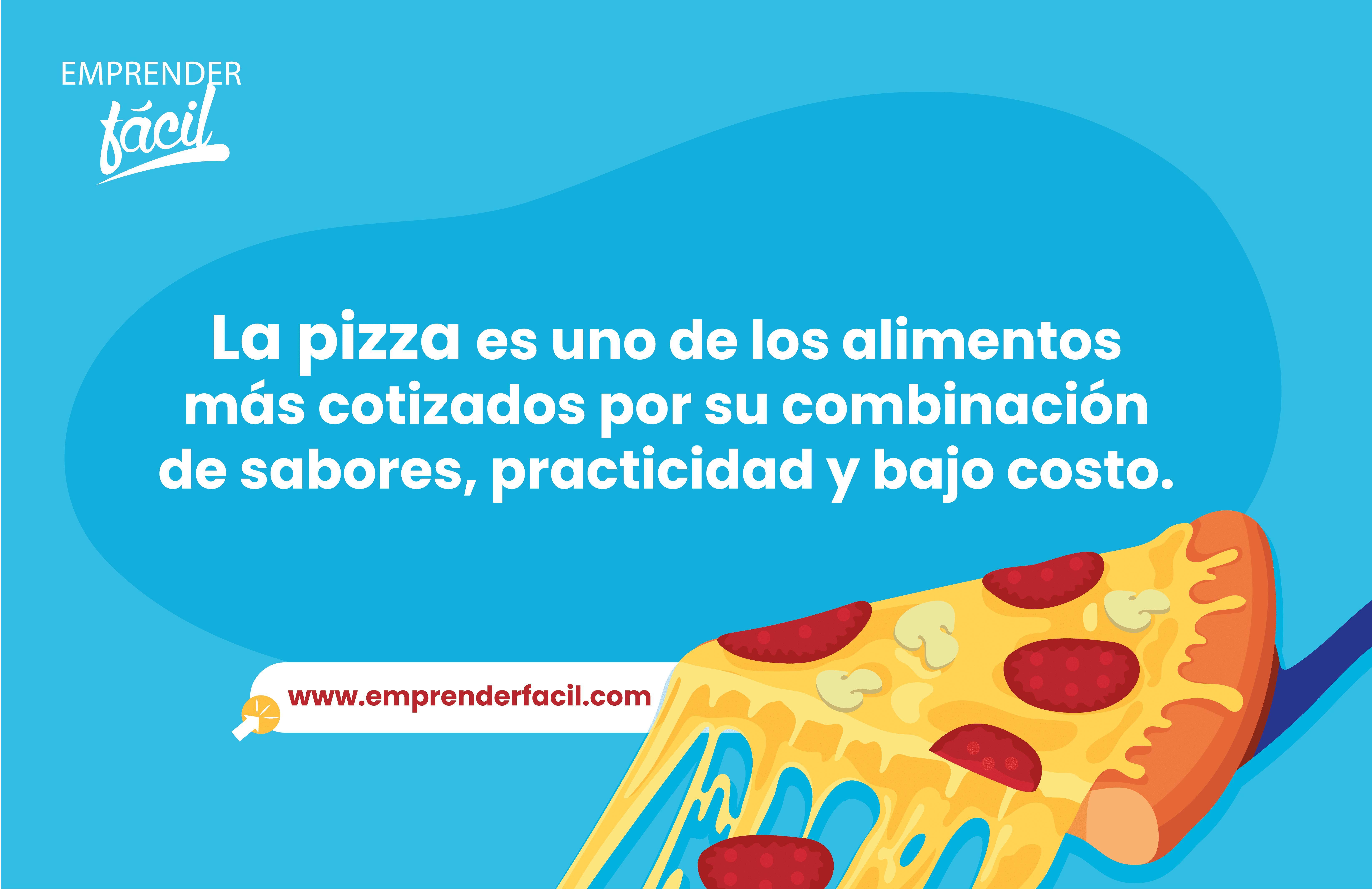 La pizza es uno de los alimentos más cotizados.