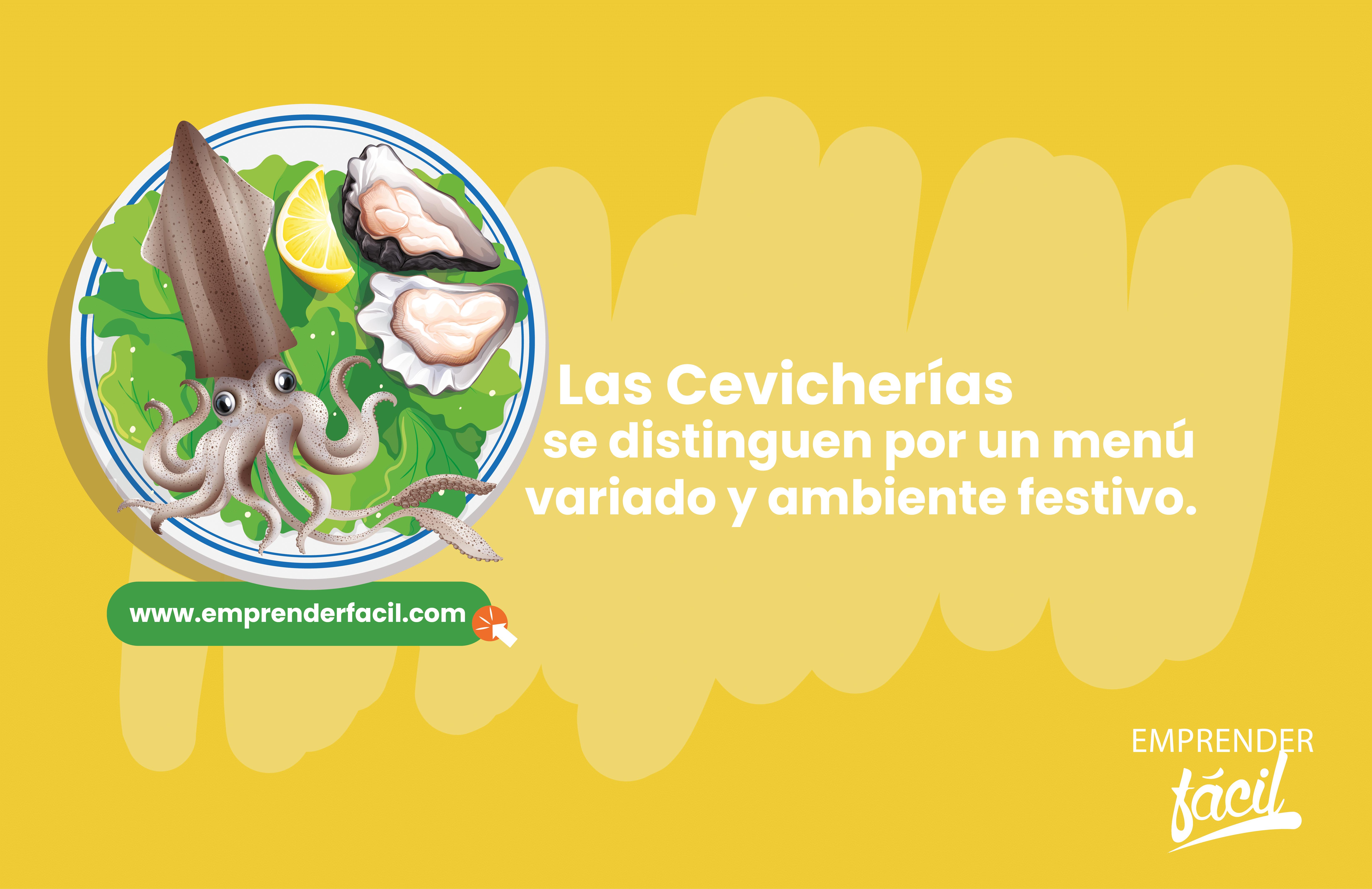 Las Cevicherías se distinguen por un menú variado y ambiente festivo.