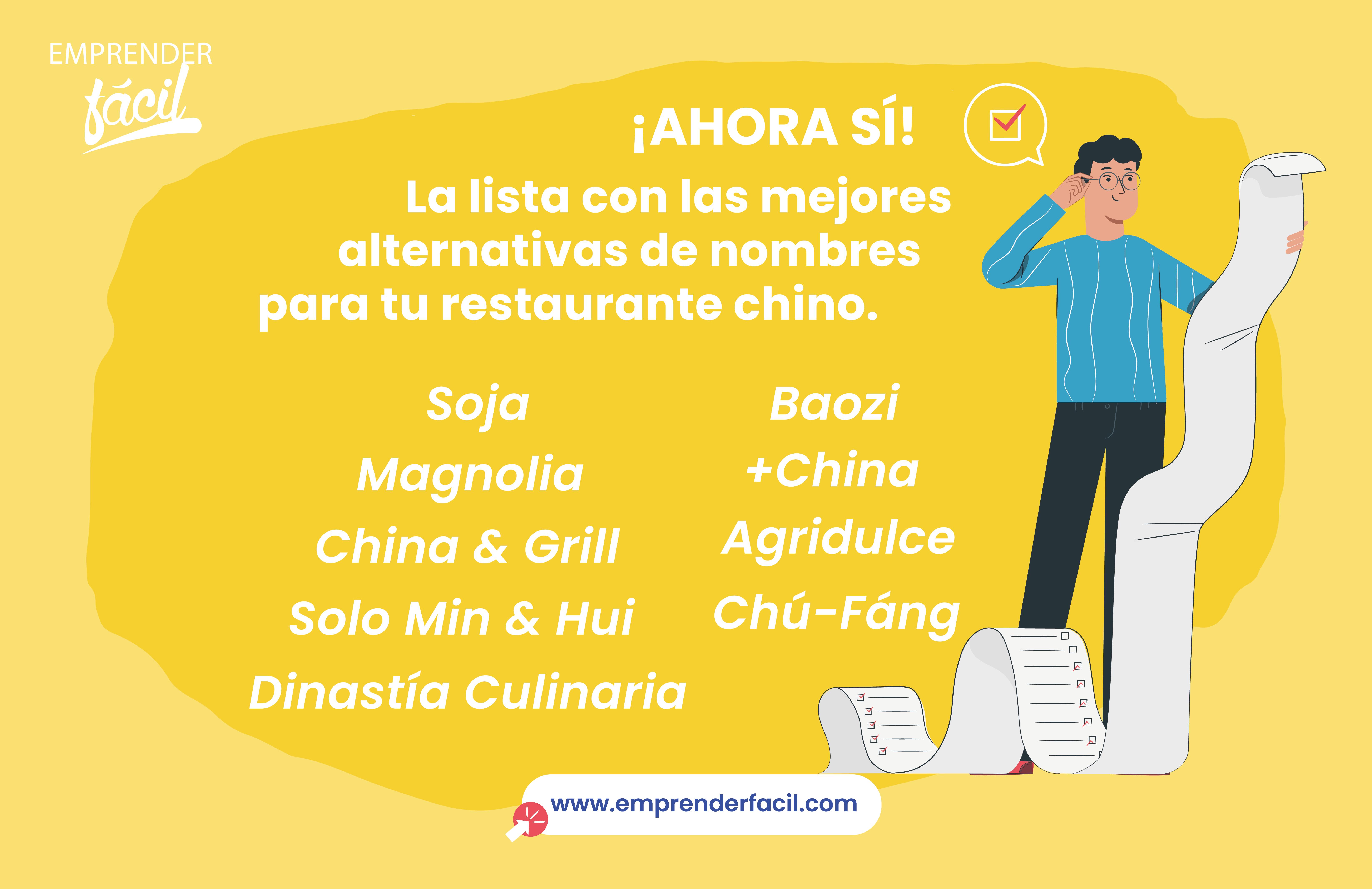 70 Nombres para Restaurantes Chinos. ¡Elige uno muy suculento!