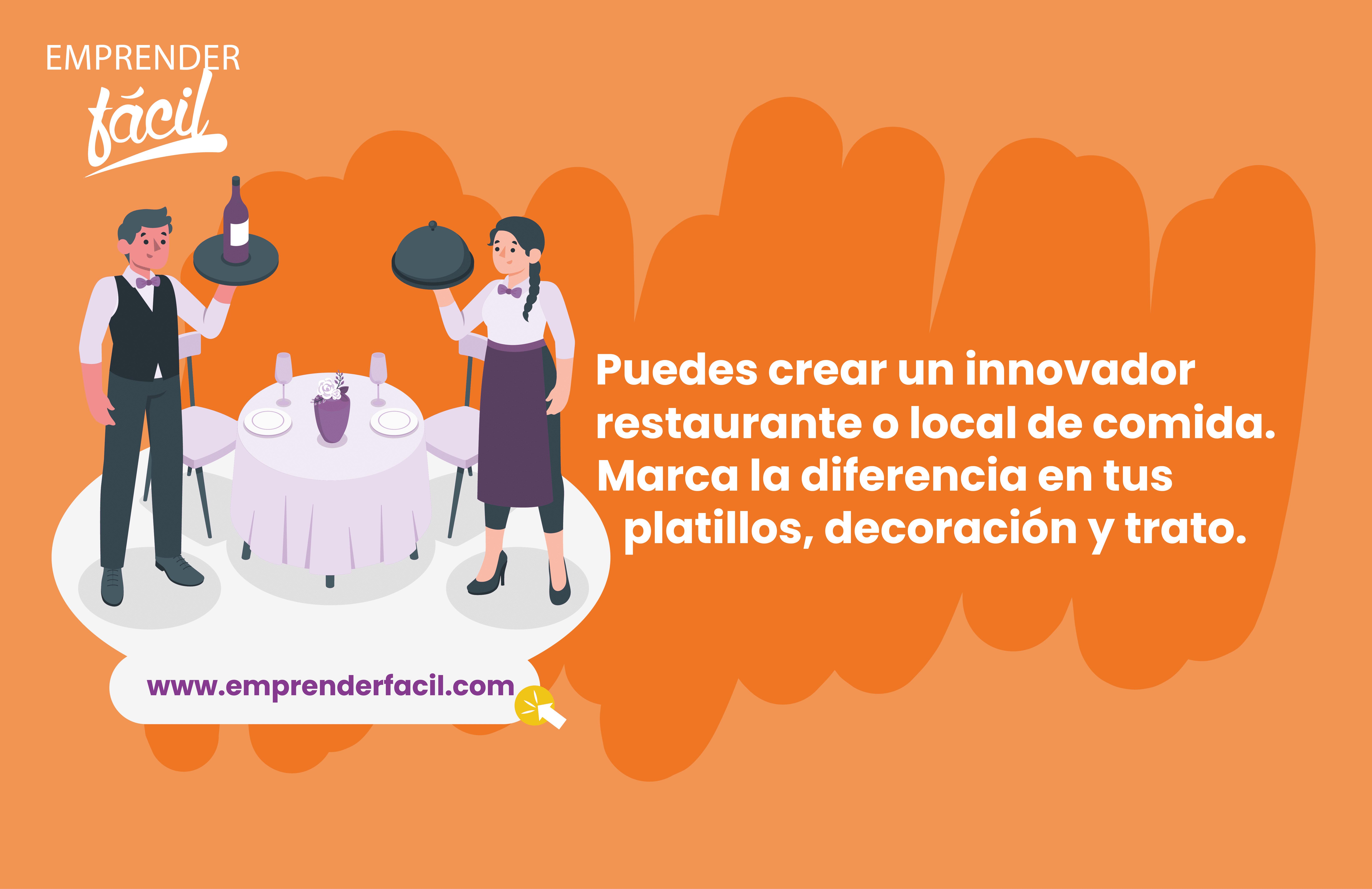 Uno de los negocios rentables en Valparaíso son los restaurantes y los locales de comida.