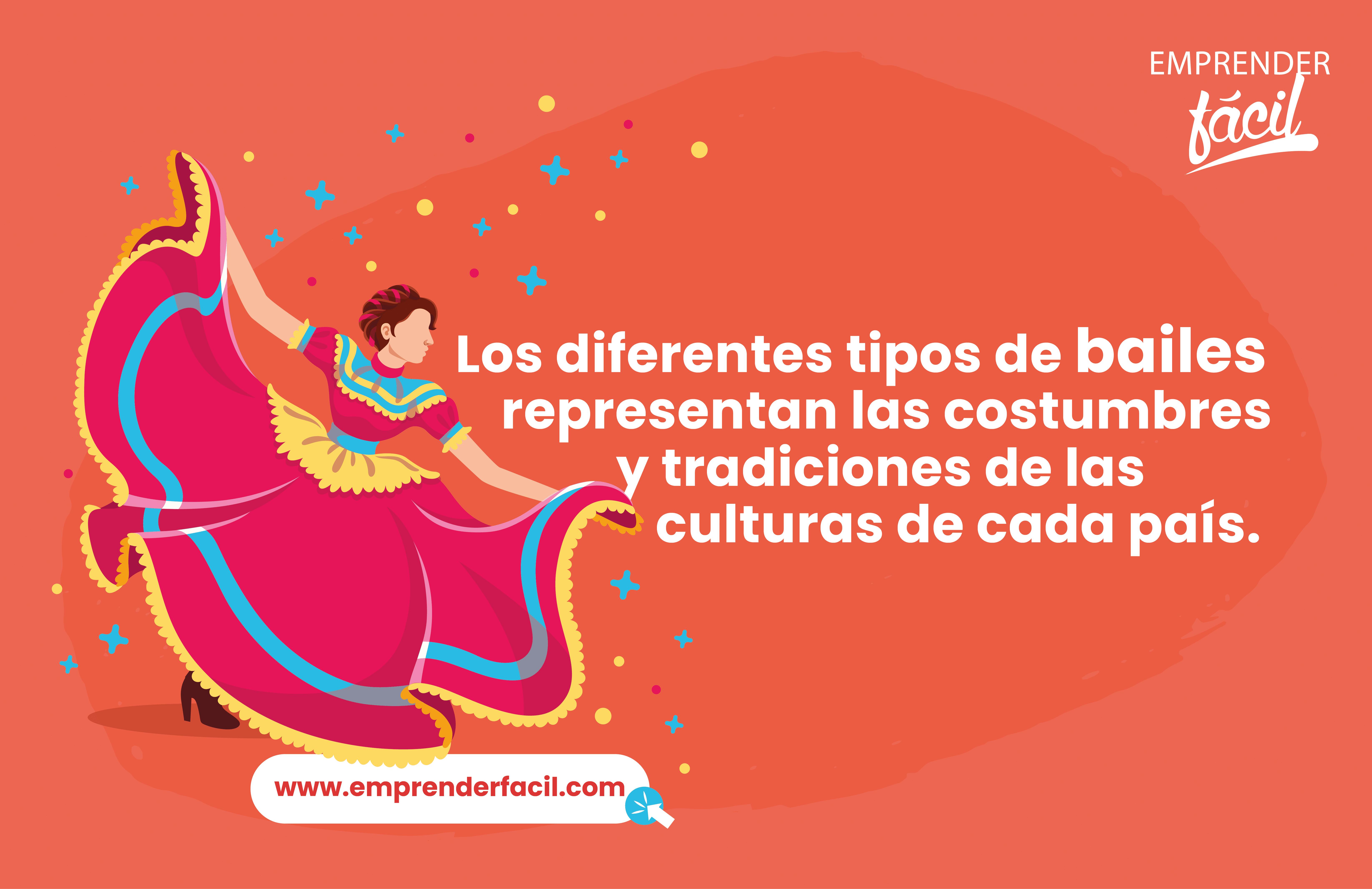 Las costumbres y tradiciones son expresadas en cada tipo de baile. Nombres para academias de baile.