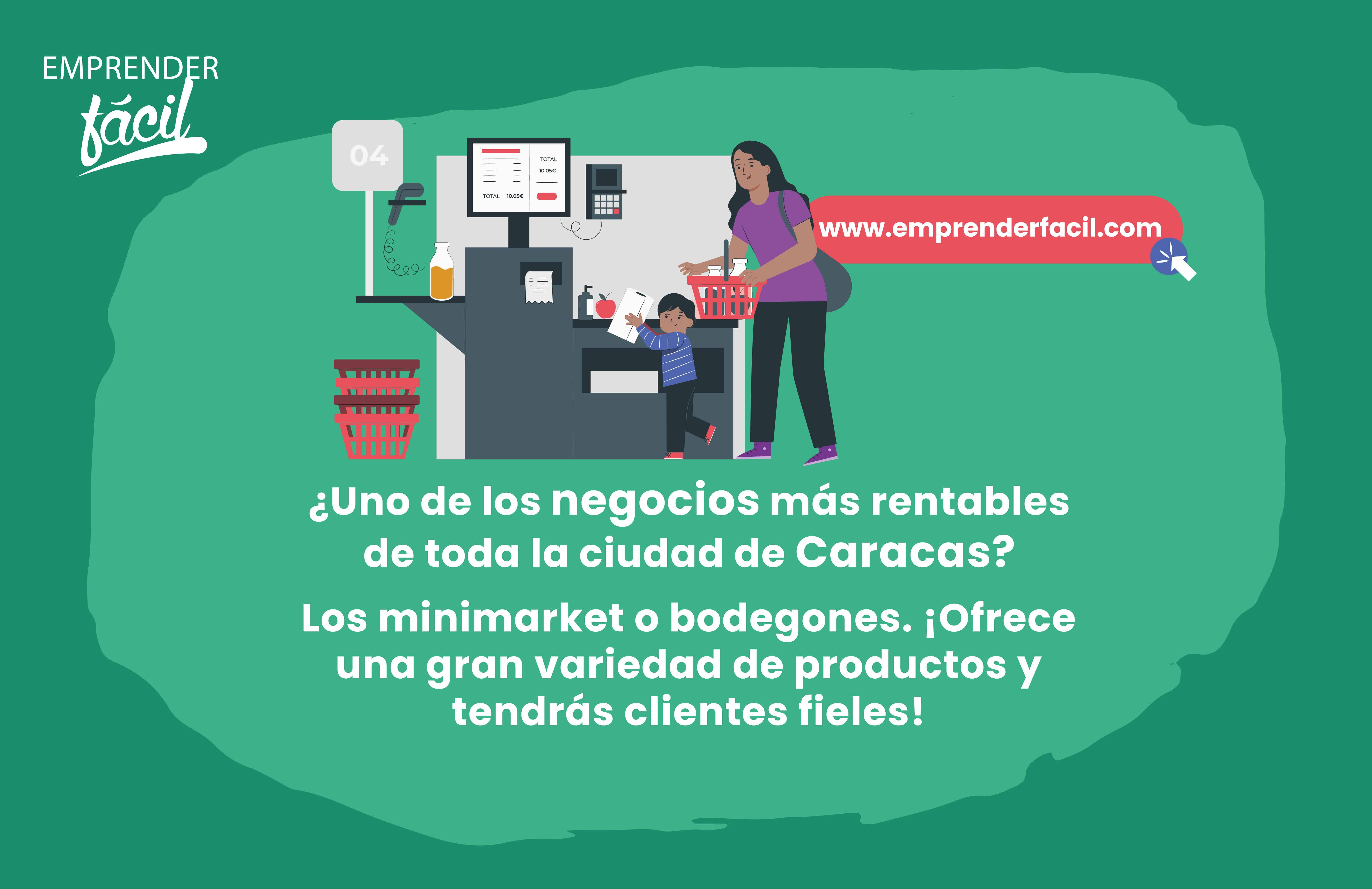 Los minimarkets son negocios rentables en Caracas